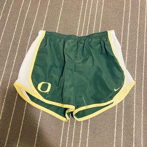 Nike University of Oregon Athletic Running Shorts
